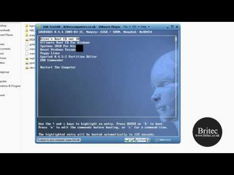 Create A Multi Boot Rescue CD or USB Flash Drive by Britec