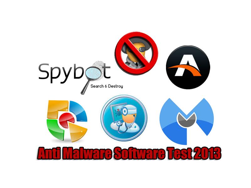 Anti Malware Software Test 2013