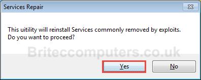 eset service repair tool