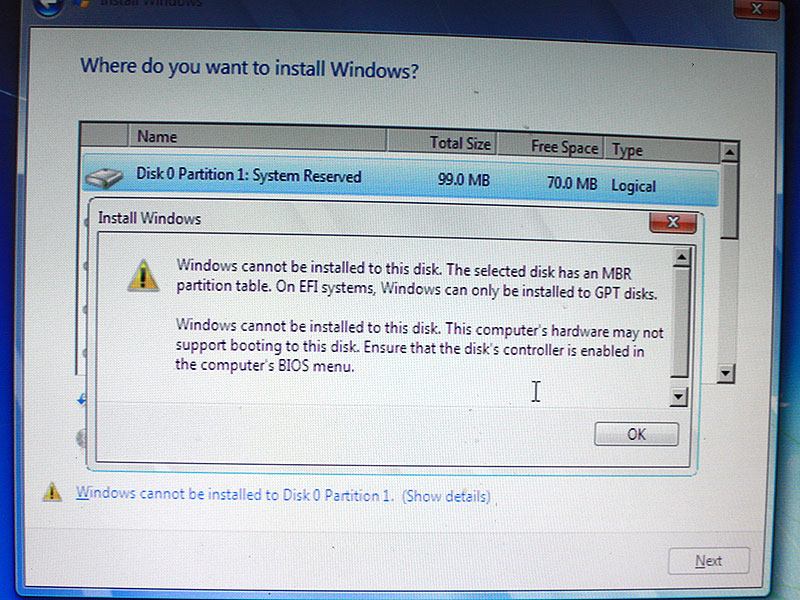 Whole disk encryption cloning and fun with windows mbr