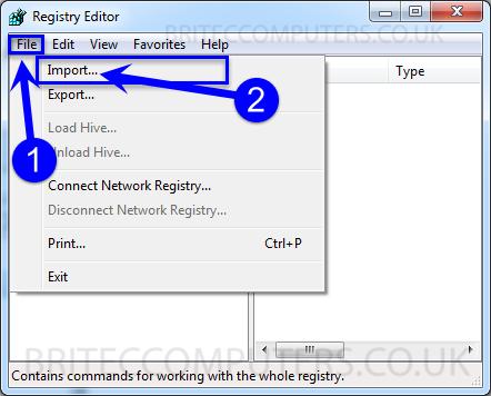 import-registry