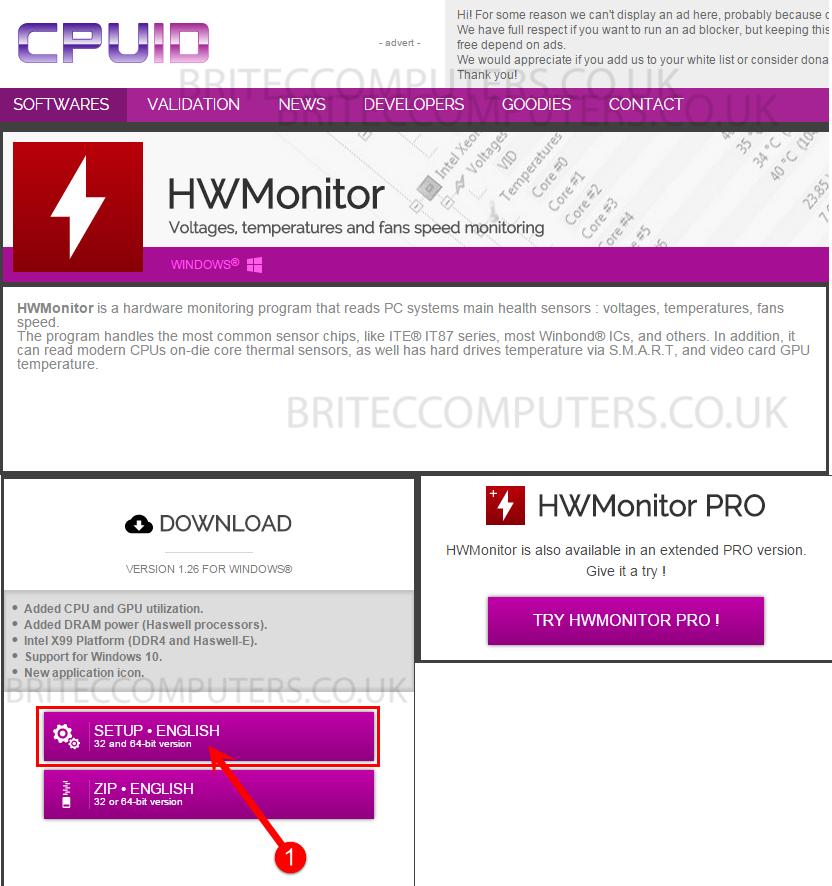 HWMonitor-Setup-Download