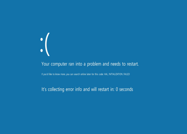 Your computer ran into a problem