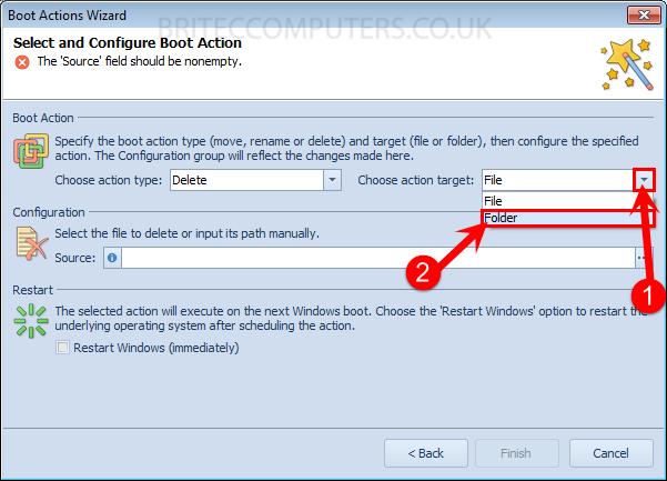 choose-action-target-folder