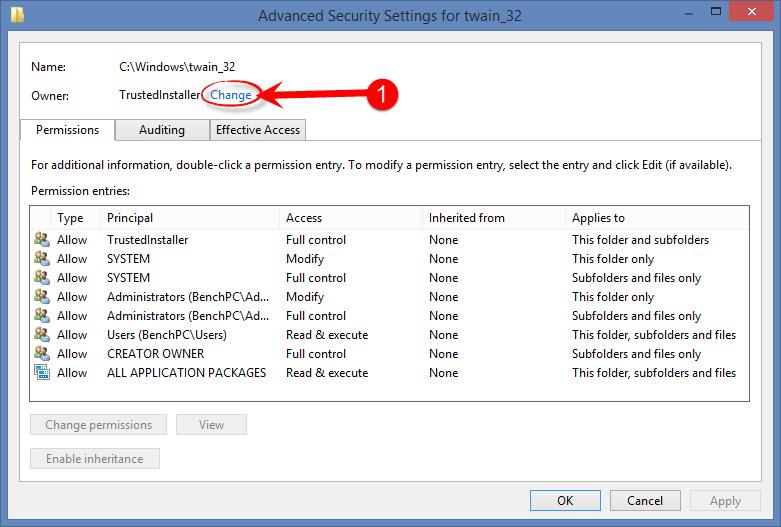 file write access denied asp net