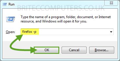 Create and Remove Firefox Profiles -