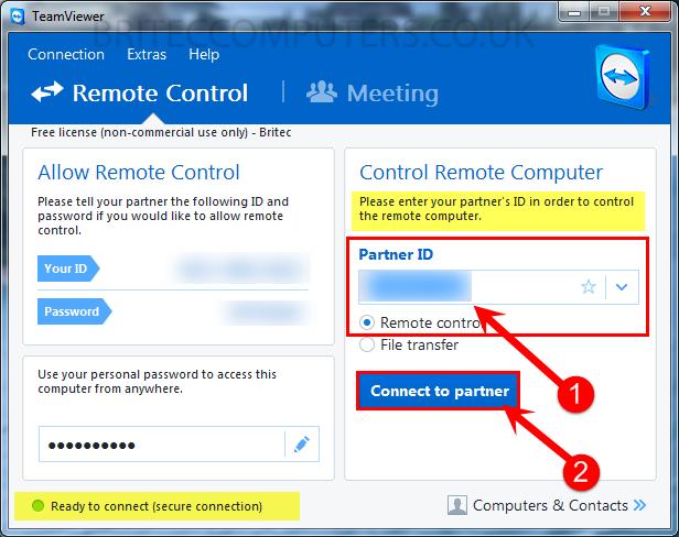 control-remote-computer