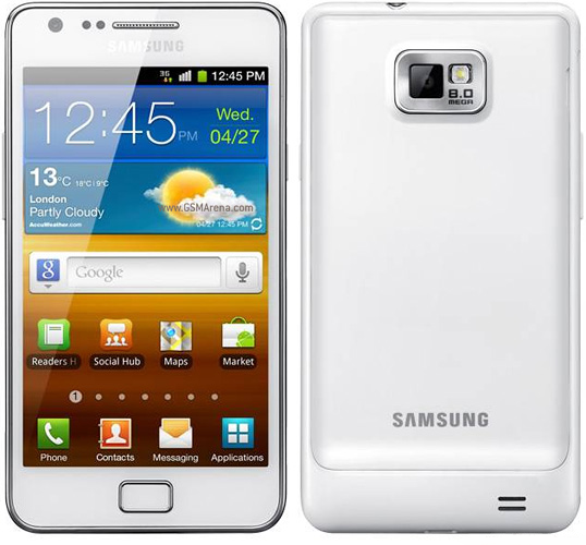 SAMSUNG I9100 GALAXY SII - RESTORE FACTORY SETTINGS