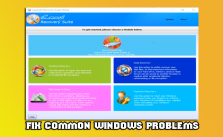 Fix Common Windows Problems