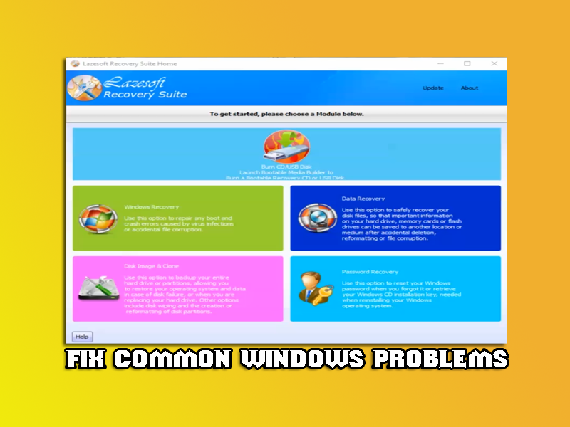 Fix Common Windows Problems
