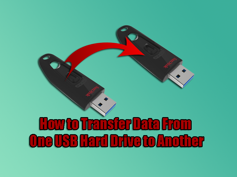 How to Transfer Data From One USB Hard Drive to Another