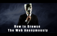 How to Browse the Web Anonymously