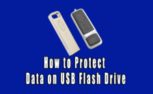 How to Protect Data on USB Flash Drive