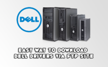 Easy Way to Download Dell Drivers via FTP Site