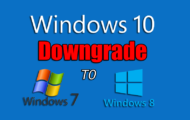 How to Downgrade from Windows 10 to Previous Windows