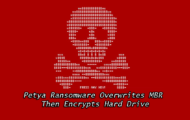 Petya Ransomware Overwrites MBR Then Encrypts Hard Drive