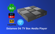 Dolamee D6 TV Box Media Player