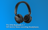 FIIL DIVA Bluetooth 4.1 HiFi Active Noise-canceling Headphones - BLACK