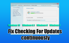 Fix Checking For Updates continuously