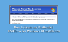 How to Create an Unattended USB Drive for Windows 10 Installation
