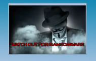 Watch Out for Ransomware