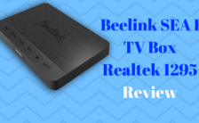 Beelink SEA I 4K TV Box 32GB DDR4 Realtek 1295 Quad Core