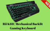Rii K61C Mechanical Backlit Gaming Keyboard