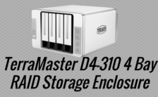 TerraMaster D4-310 4 Bay RAID Storage Enclosure