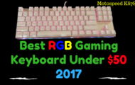 Best RGB Gaming Keyboard Under $50 2017