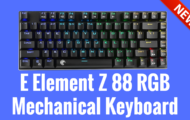E Element Z 88 RGB Mechanical Keyboard