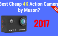 Best Cheap 4k Action Camera by Muson-1