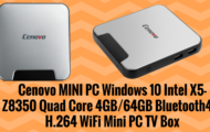 Cenovo MINI PC Windows 10 Intel X5 Z8350 Quad Core