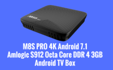 M8S PRO 4K Android 7.1 Octa Core DDR 4 3GB Android TV Box