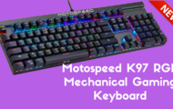 Motospeed K97 RGB Mechanical Gaming Keyboard
