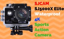 SJCAM SJ5000X Elite Waterproof 4K Sports Action Camera
