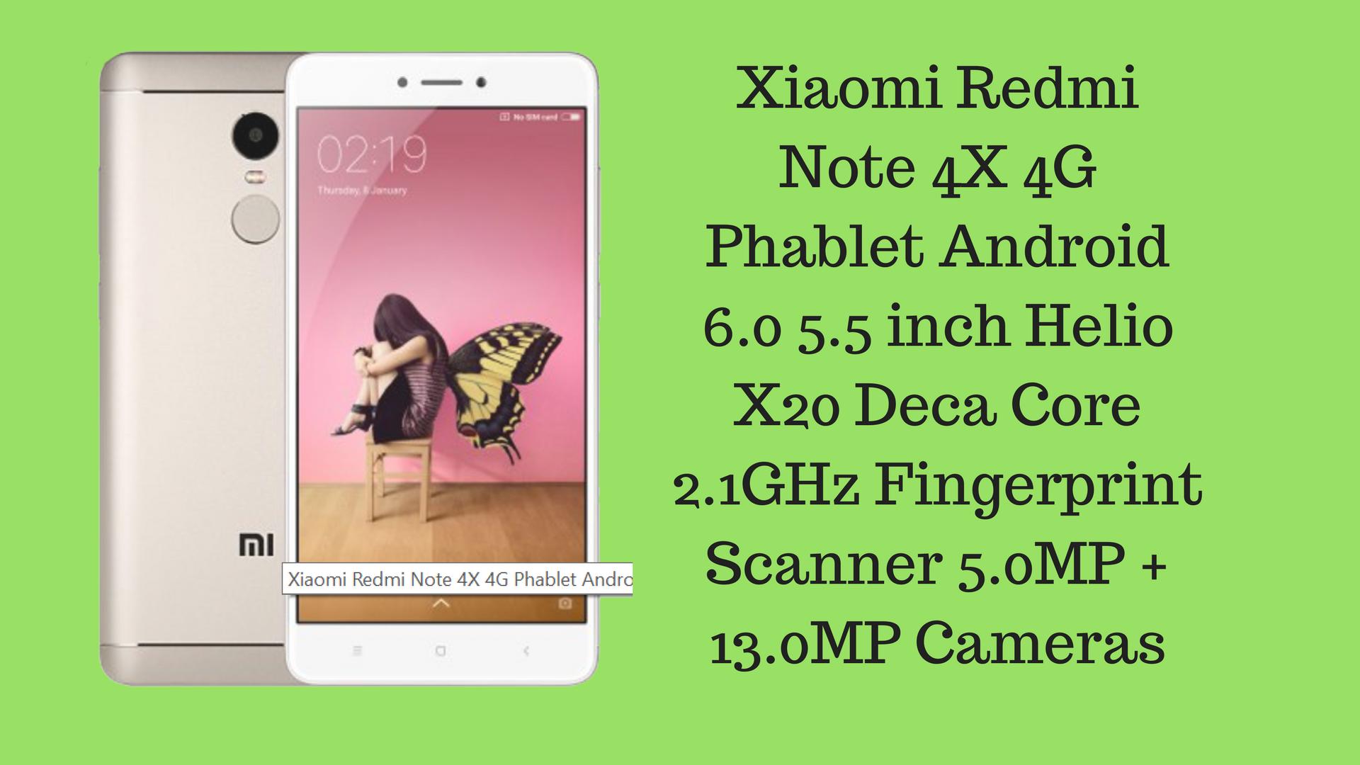 Buy Xiaomi Redmi Note 4 4 Gb Ram 64 Gb Rom Mobile: Xiaomi Redmi Note 4X 4G Phablet 4GB RAM 64GB ROM