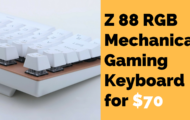 Z 88 RGB Mechanical Gaming Keyboard for $70