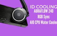 AURAFLOW 240 RGB Sync AIO CPU Water Cooler