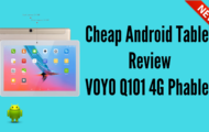 Cheap Android Tablet Review VOYO Q101 4G Phablet