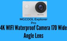 MGCOOL Explorer Pro 4K WIFI Waterproof Camera 170 Wide Angle Lens