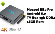 Mecool BB2 Pro Android 6.0 TV Box 3gb DDR4 + 16GB