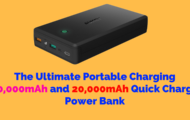 The Ultimate Portable Charging 30,000mAh Quick Charge Power Bank
