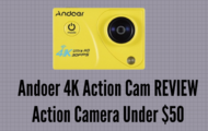 Andoer 4K Action Cam REVIEW Action Camera Under $50