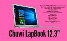 Chuwi LapBook 12.3 inch