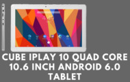 Cube iPlay 10 Quad Core 10.6 Inch Android 6.0 Tablet