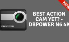 Best Action Cam Yet DBPOWER N6 4K