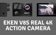 EKEN V8s Real 4K Action Camera