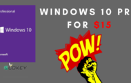 Windows 10 Pro for $15