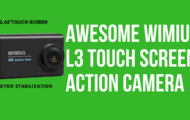 Awesome Wimius L3 4K Touch Screen Action Camera