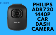 PHILIPS ADR720 1440P Car Dash Camera